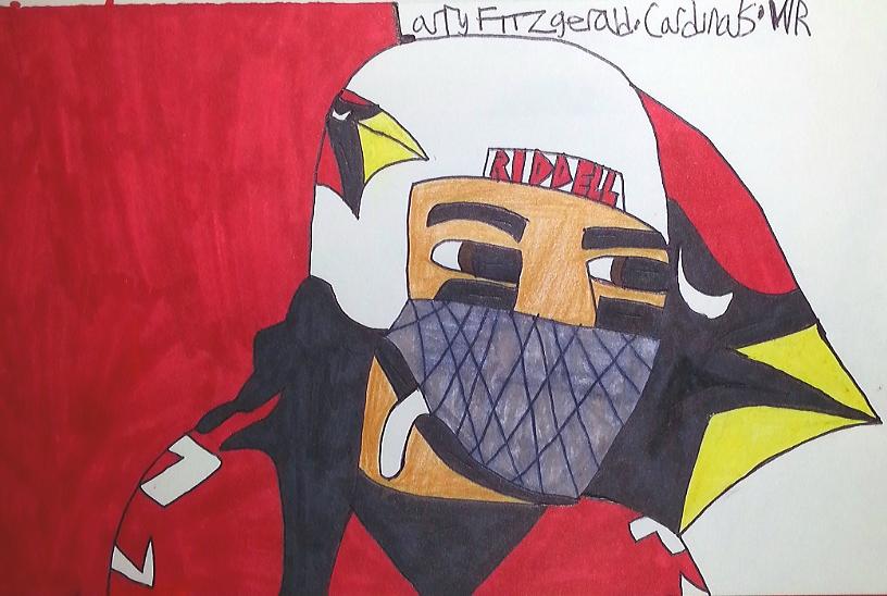 Larry Fitzgerald by armattock